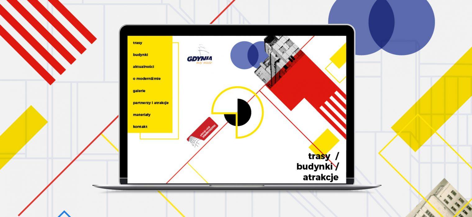 modernizm strona www design gdynia