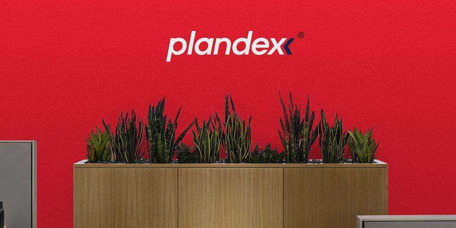projekt znak charakterystyczny marka Plandex