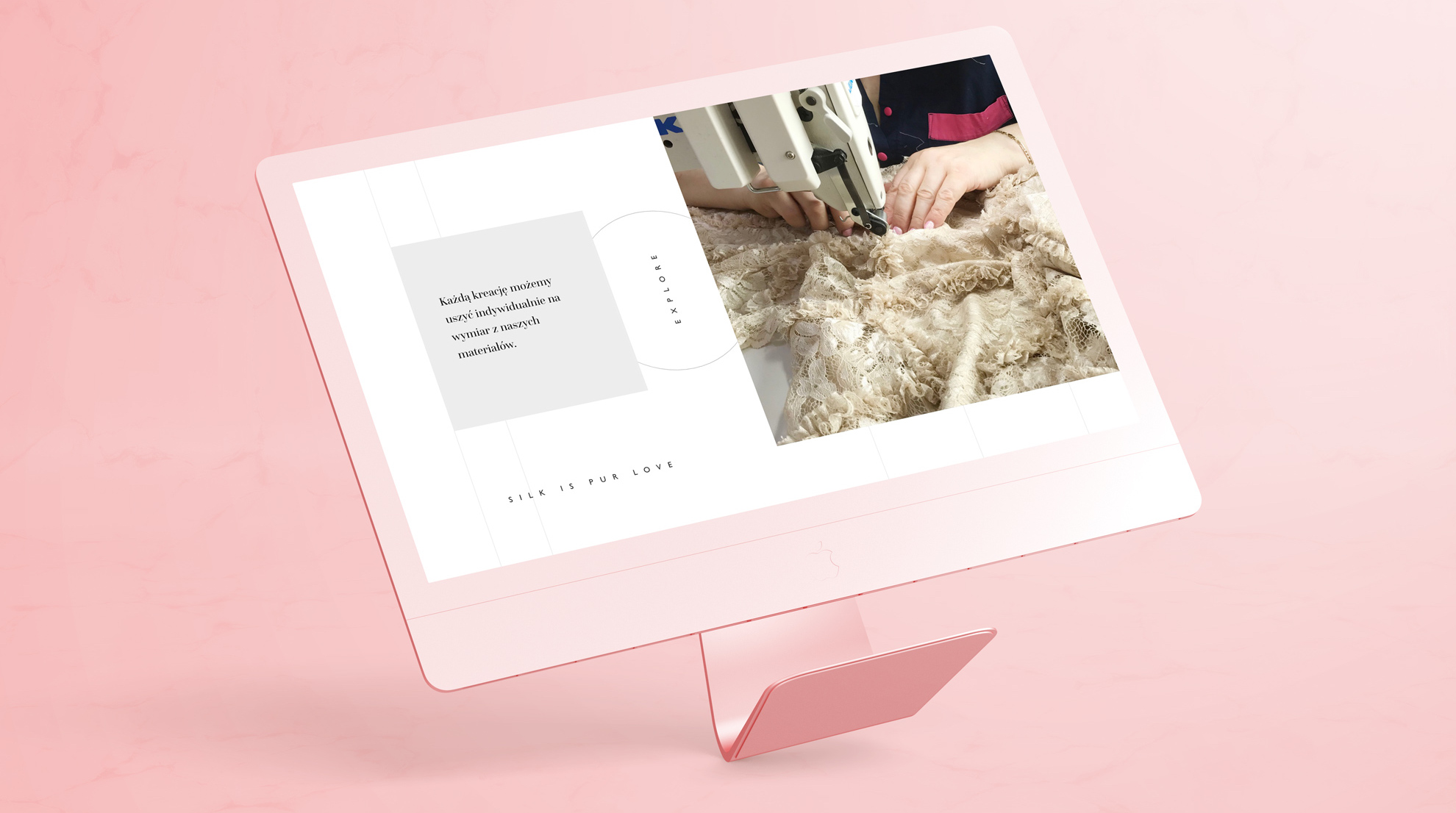 branża fashion projekt strony www Gdynia