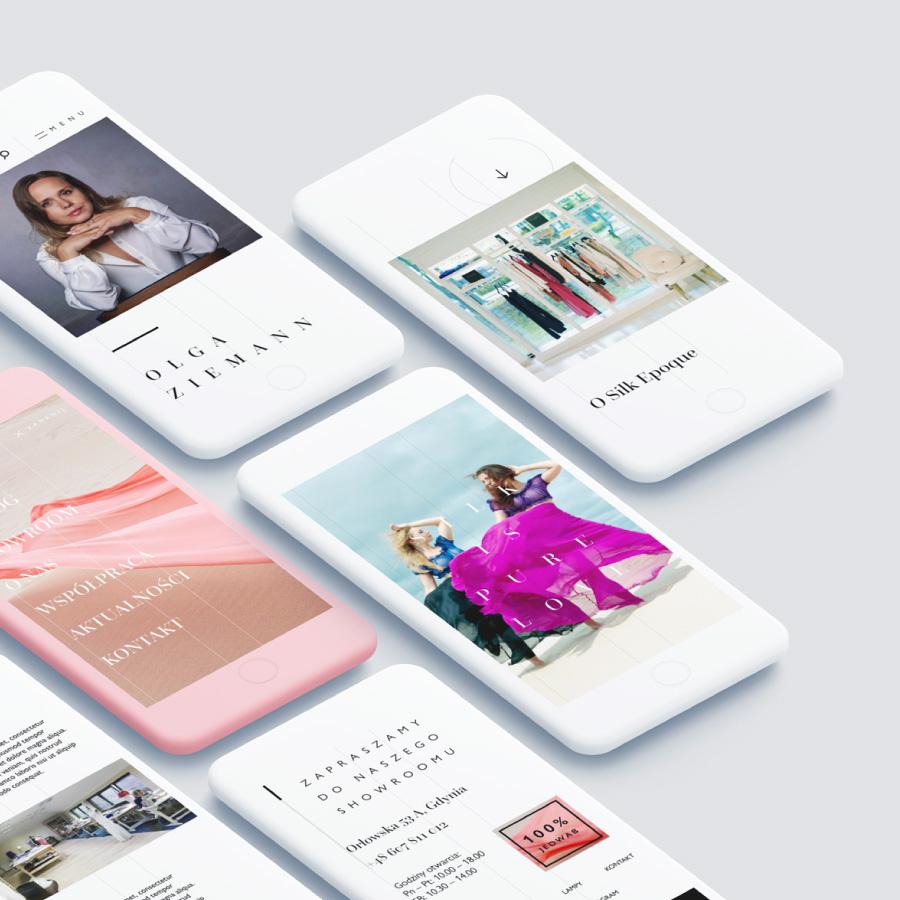 projekt www wersja mobilna ecommerce