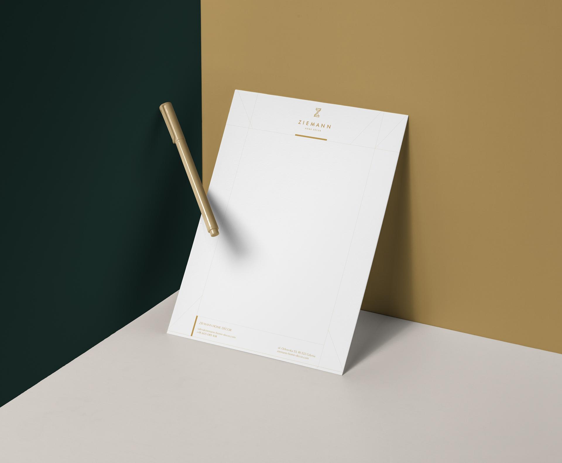 papier firmowy projekt premium Trójmiasto
