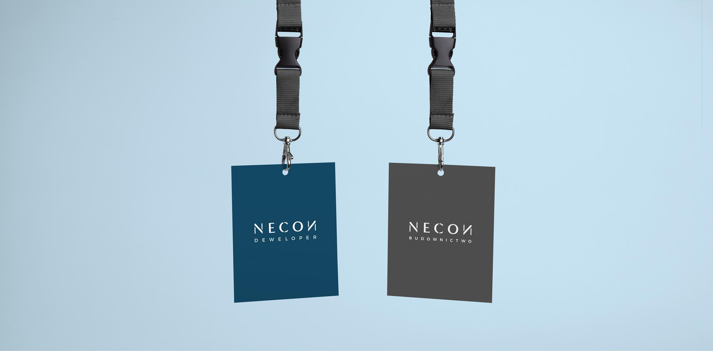 projektowanie znak graficzny necon
