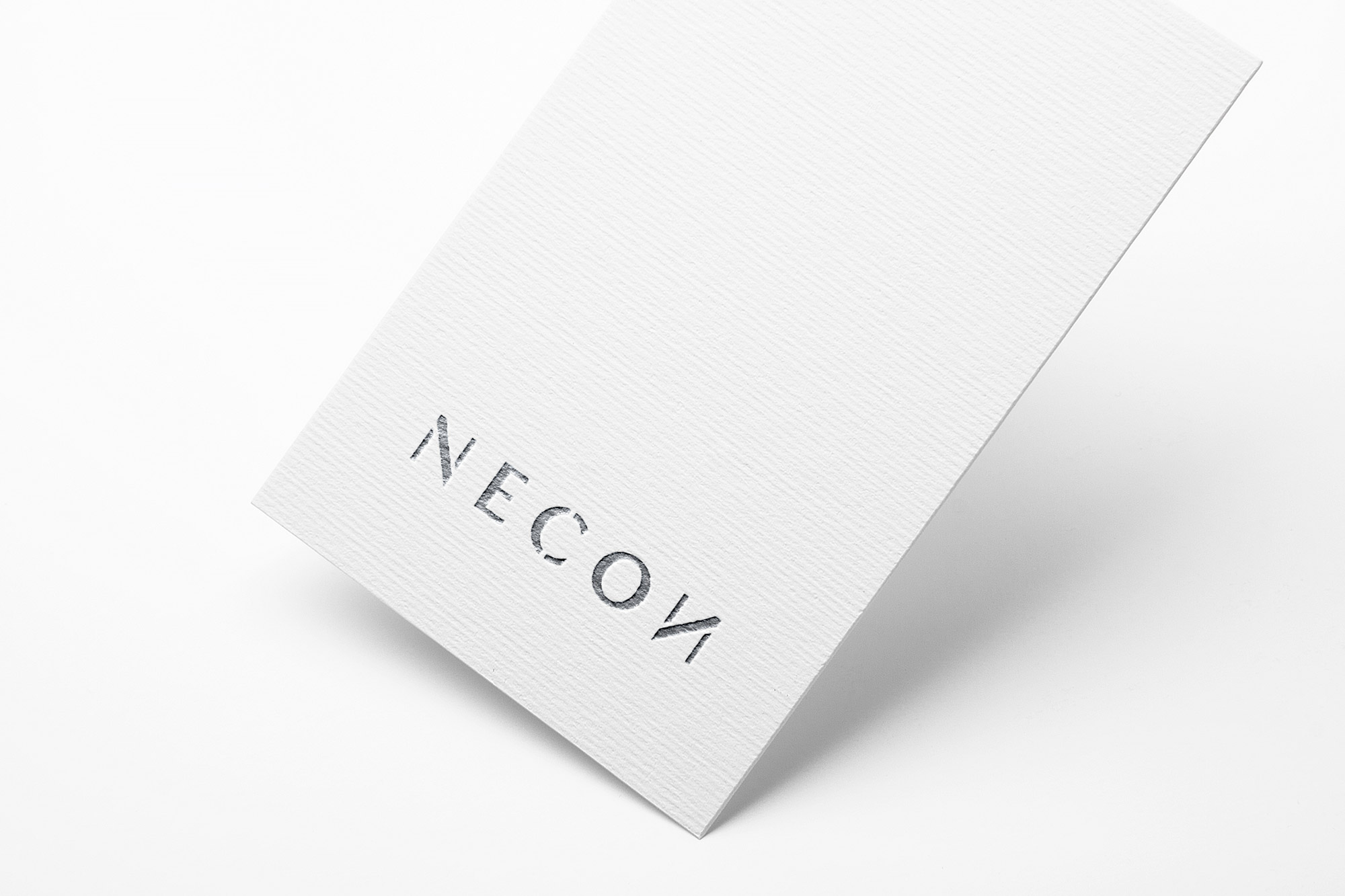 projekt logotyp minimalizm necon gdańsk