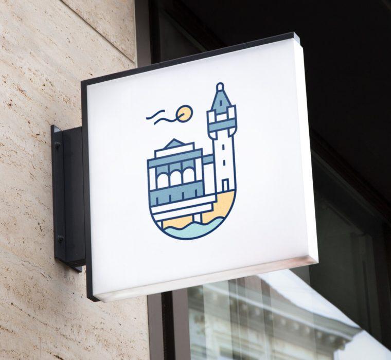 identyfikacja wizualna logo turystyka sopocka organizacja turystyczna
