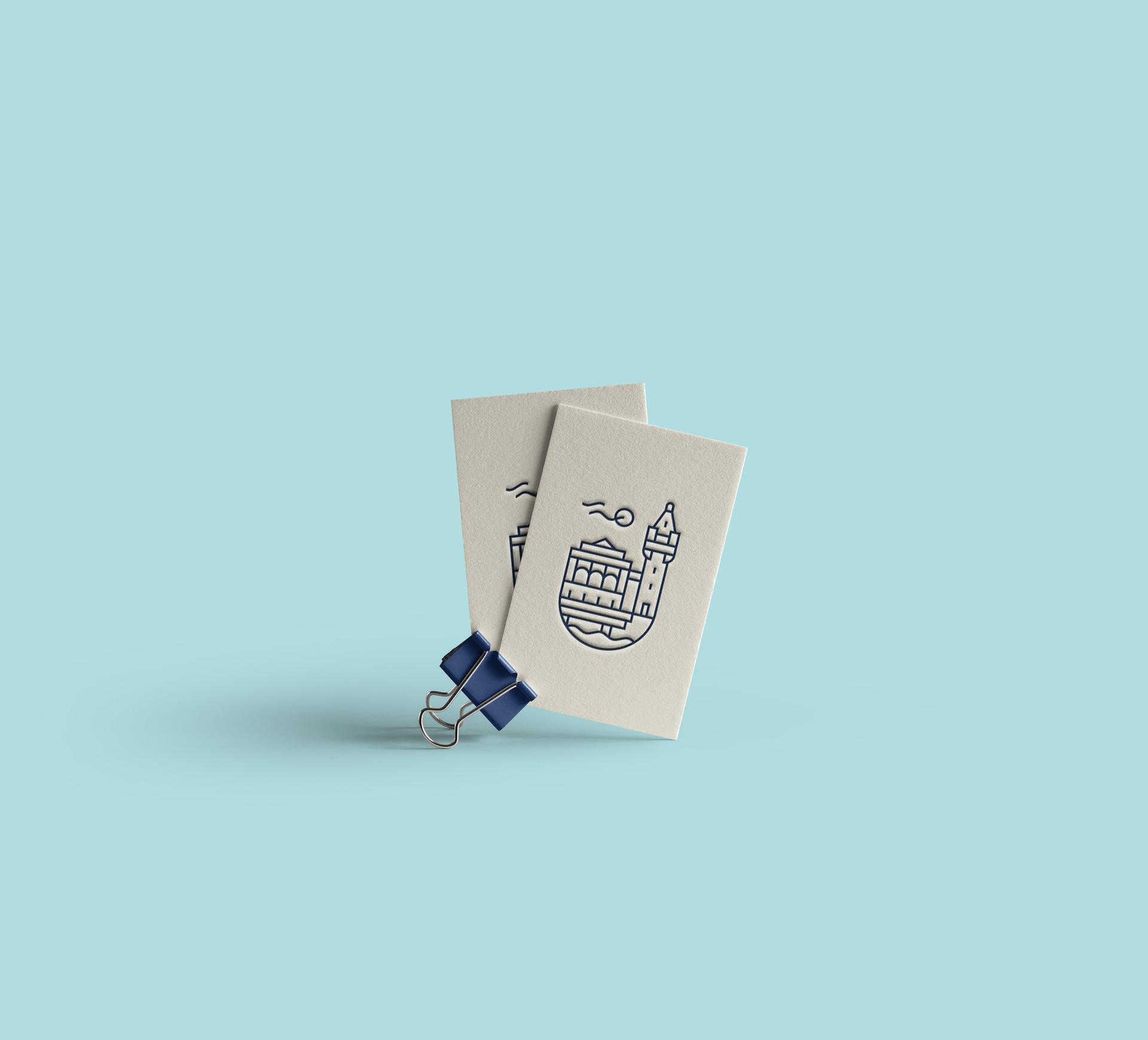 logo wizytówki projekt minimalistyczne