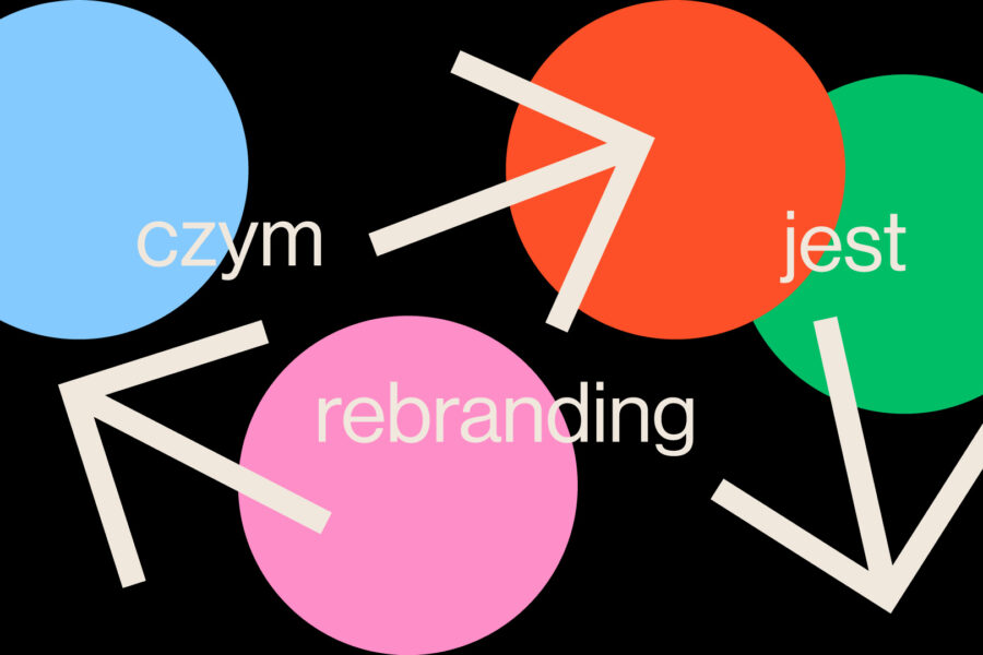 rebranding firmy marki redesign logo studio graficzne spectro