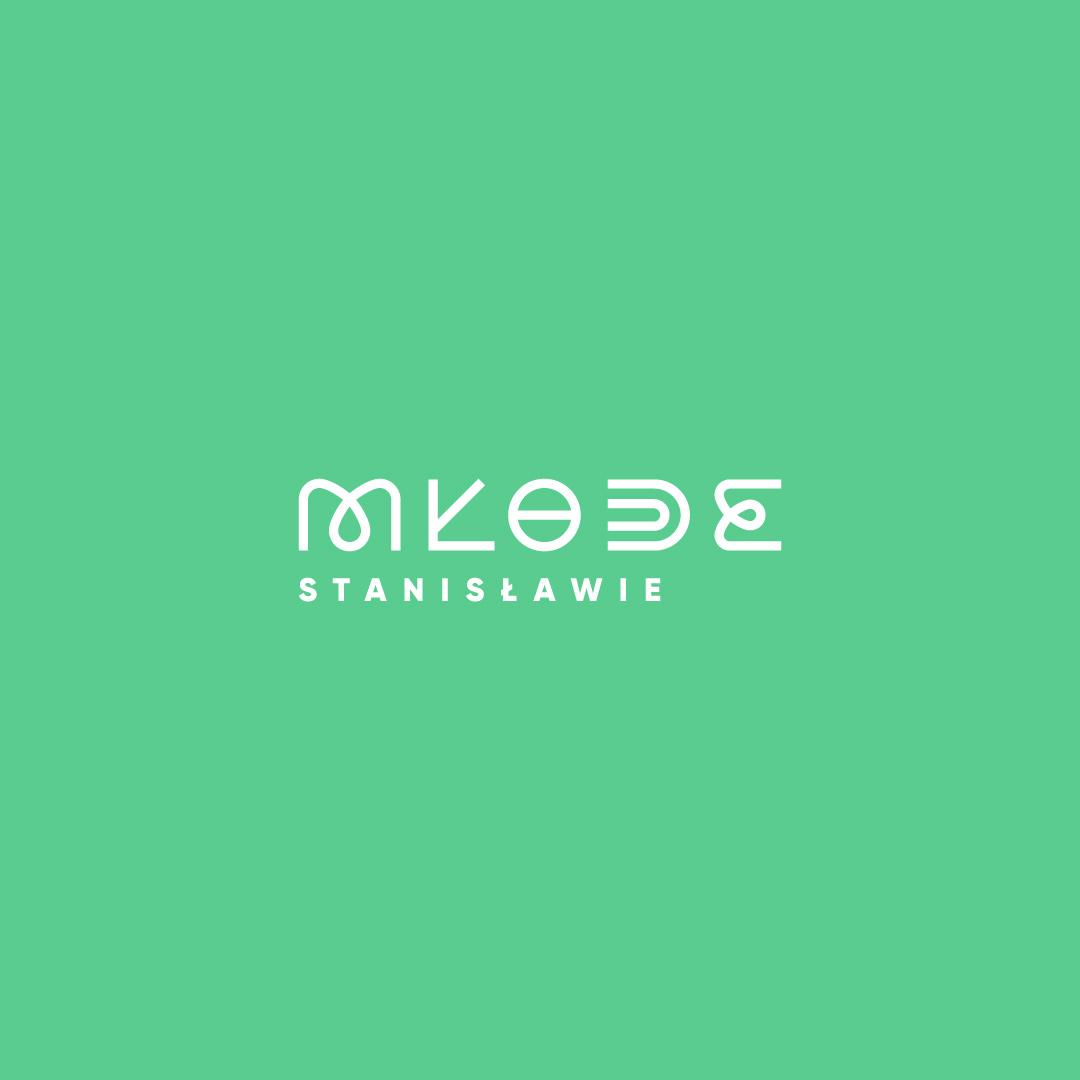 projekt logotyp mlode stanislawie studio graficzne