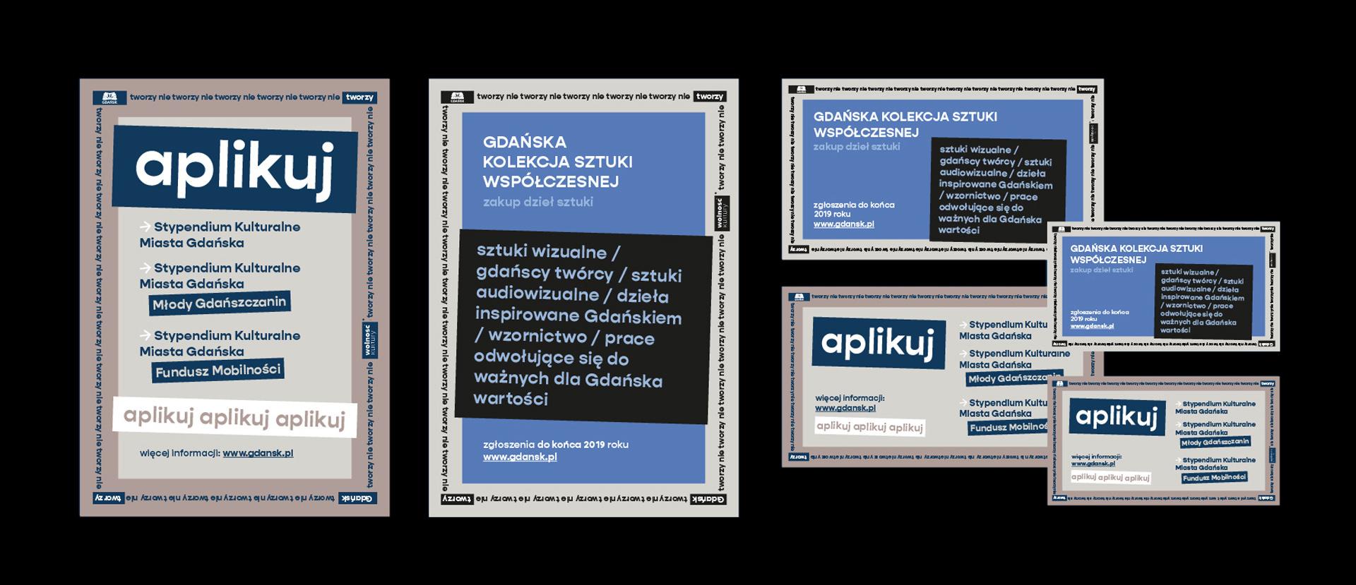 projekty plakaty materiały graficzne formaty Gdańsk