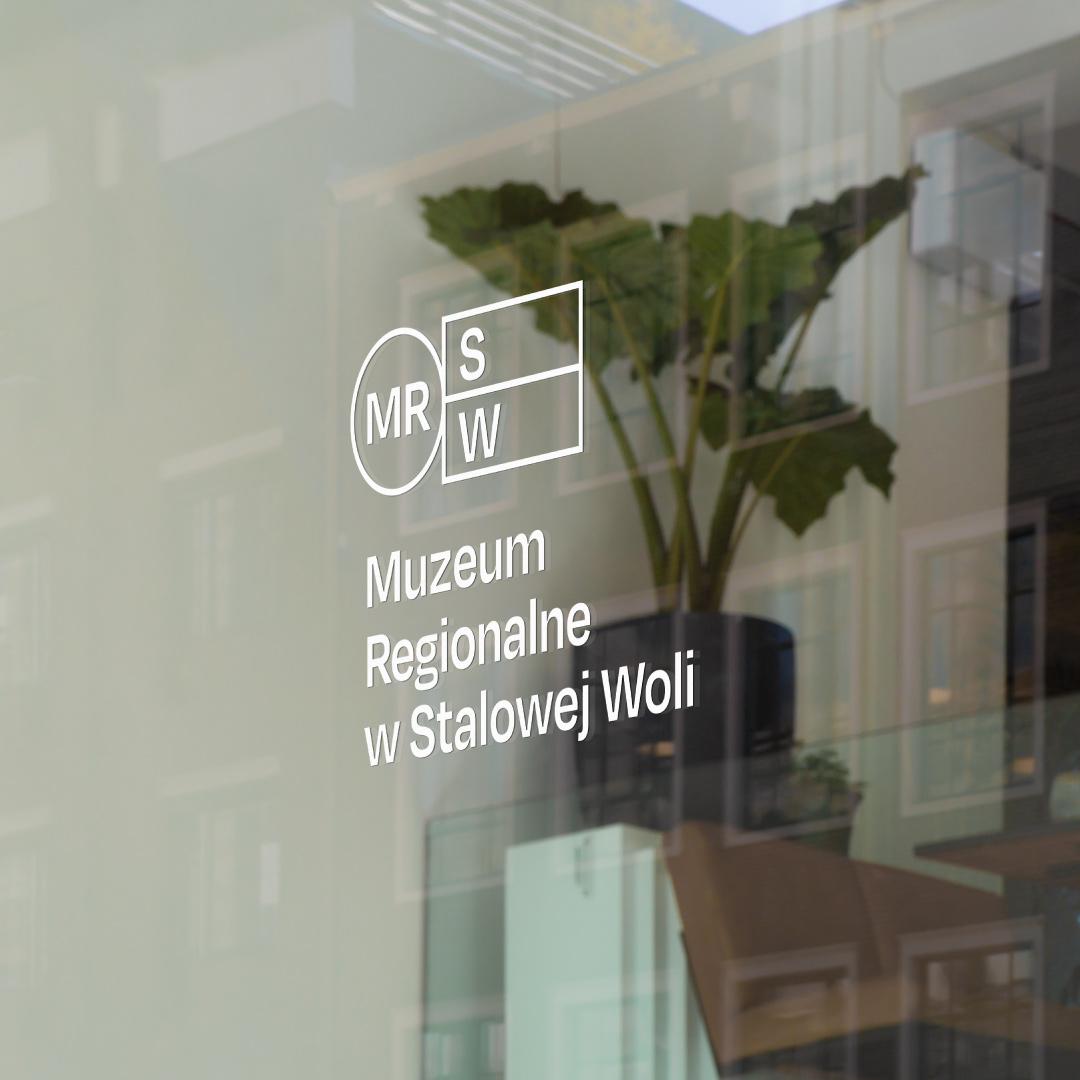 minimalistyczny projekt logo sztuka muzeum studio graficzne Gdańsk