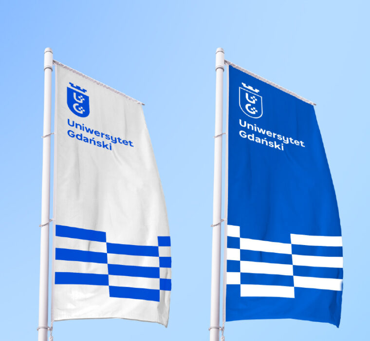 projekt nowy znak Uniwersytet Gdański Studio Spectro