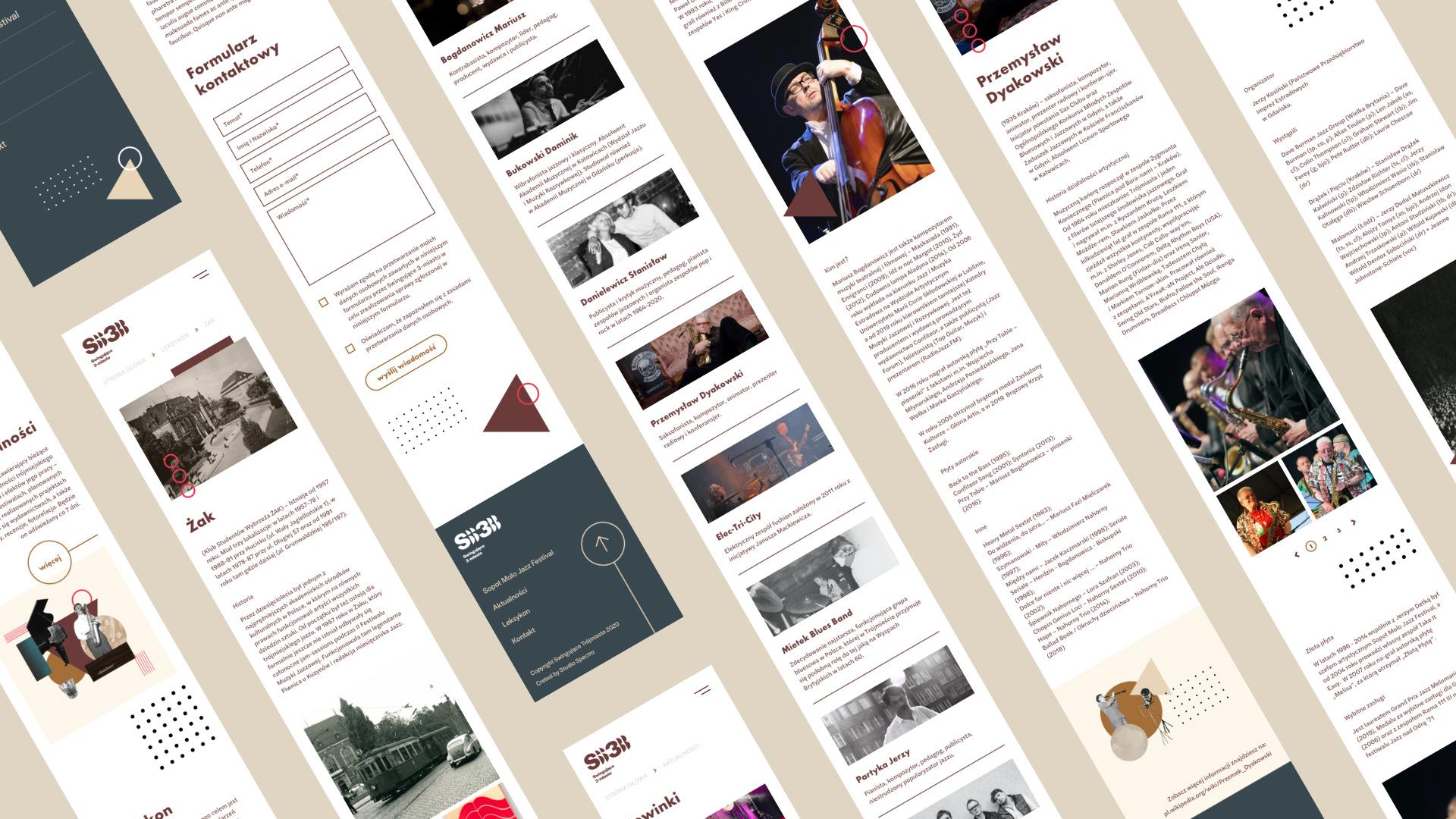 www design responsywna UX/UI Gdansk studio spectro