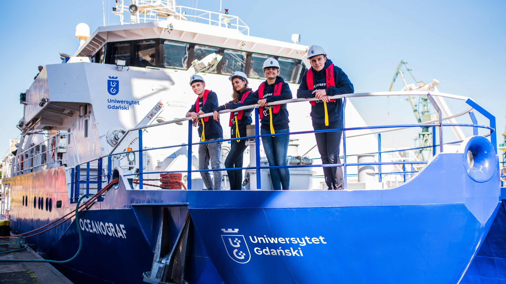 logo Uniwersytet Gdański projekt Oceanograf