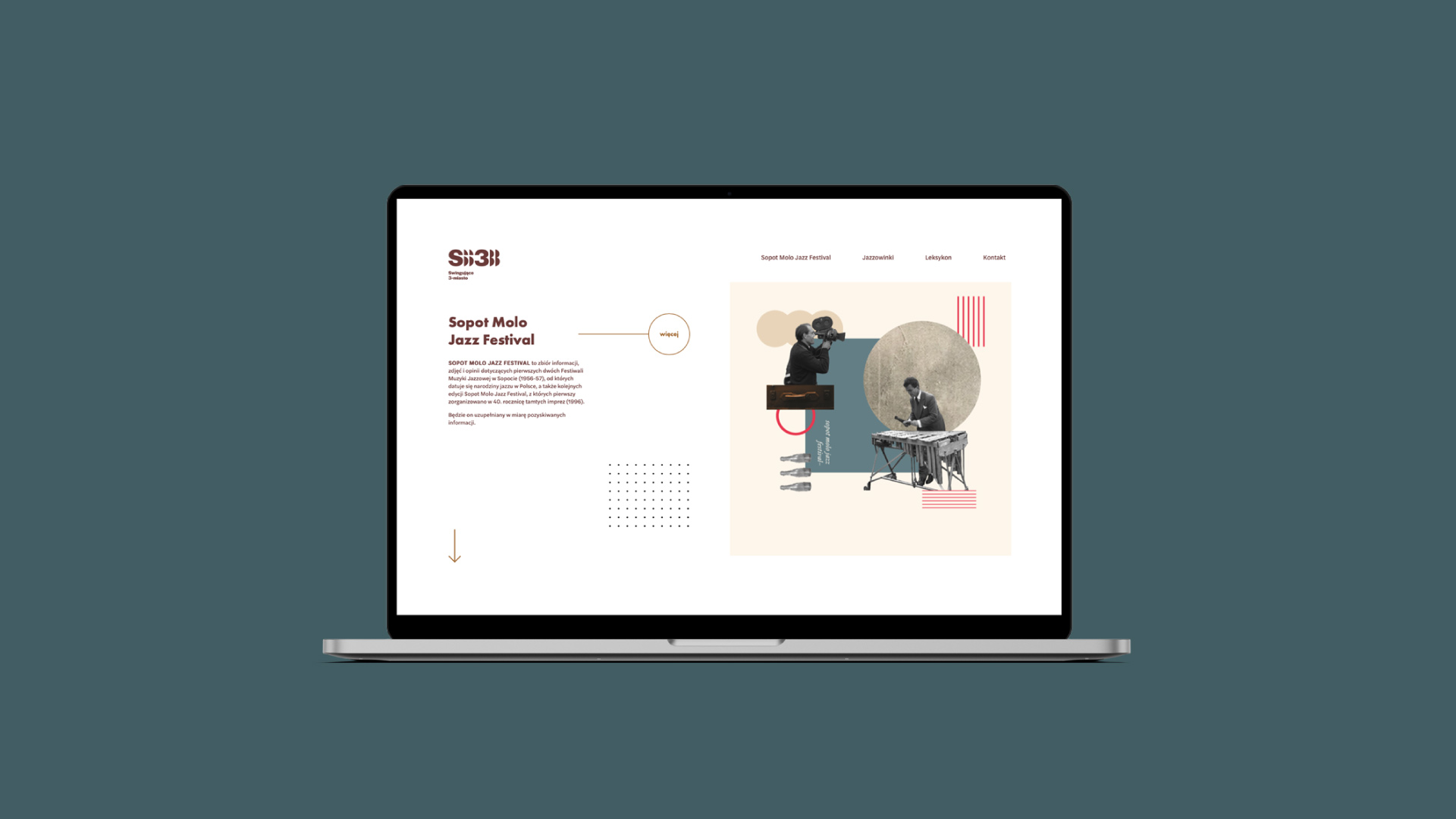 web design projekt studio graficzne UI/UX swingujące 3-miasto